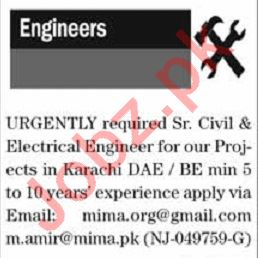 The News Sunday Classified Ads 15th March 2020 for Engineers