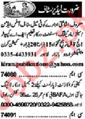 Khabrain Sunday Classified Ads 15th March 2020 Ladies Staff