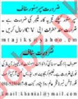 Mashriq Sunday Classified Ads 15th March 2020 Admin Staff