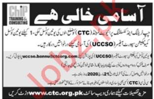 CHIP Training & Consulting Pvt Ltd NGO Jobs in Bannu KPK