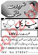 Aaj Sunday Classified Ads 22nd March 2020 for Medical Staff