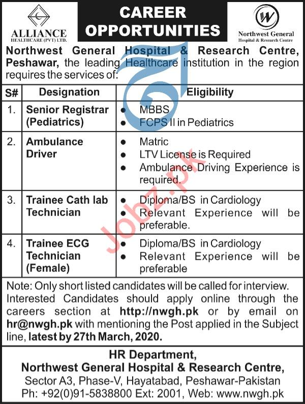 Northwest General Hospital & Research Center NWGH Jobs 2020