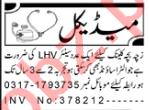 Lady Health Visitor Jobs 2020 in Peshawar