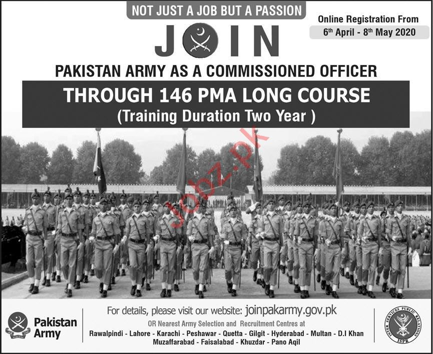 Pakistan Army Join Commissioned Officer Through Long Course