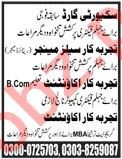 Accountant & Sales Manager Jobs 2020