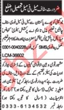 Distributor & Sales Staff Jobs 2020 in Multan