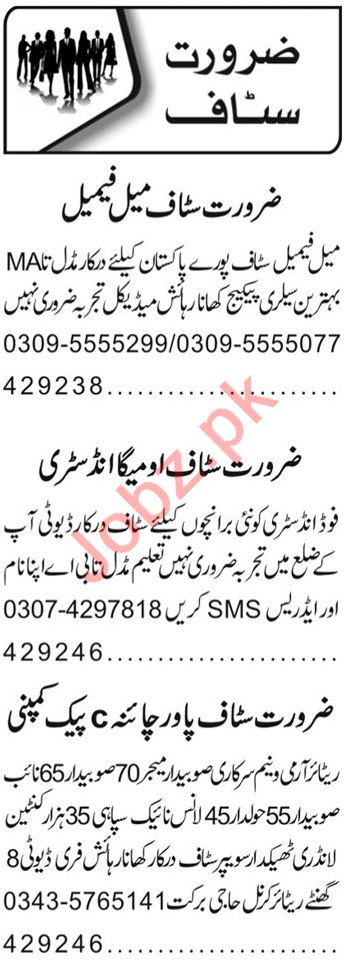 Admin Officer & Recovery Officer Jobs 2020 in Lahore