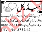 Lady Health Visitor & Nurse Jobs 2020 in Peshawar