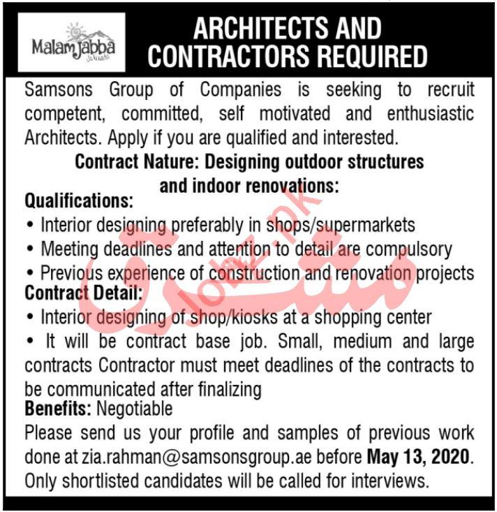 Samsons Group of Companies Malam Jabba Jobs 2020