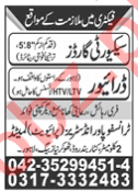 Transfopower Industries Lahore Jobs 2020 for Security Guards
