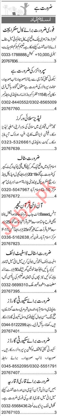 Call Center Agent & Call Operator Jobs 2020 in Islamabad