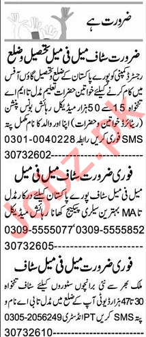 Client Relation Officer & Lab Assistant Jobs 2020