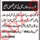 Male & Female Medical Staff Jobs 2020 in Multan