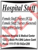 National Hospital & Medical Center Lahore Jobs 2020