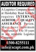 Scapt Karachi Jobs 2020 for Internal Auditor