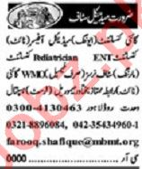 Khabrain Sunday Classified Ads 31st May 2020 Medical Staff