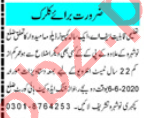 Clerical Staff Jobs Career Opportunity in Nowshera