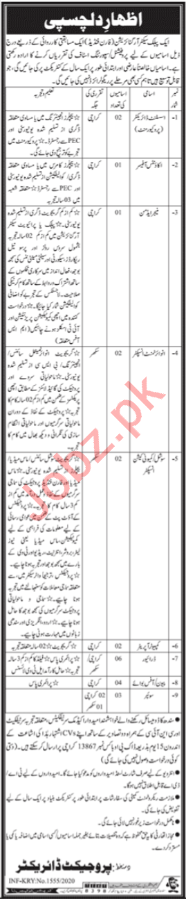 Public Sector Organization Karachi Jobs 2020 for Director