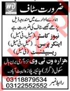 Newscaster & Anchor Person Jobs 2020 in Abbottabad