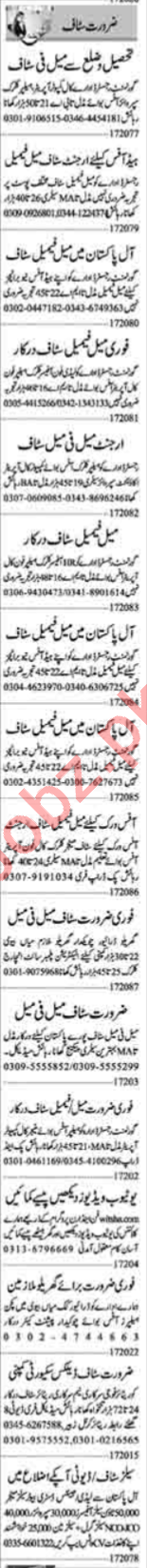 Computer Operator & Recovery Officer Jobs 2020 in Lahore