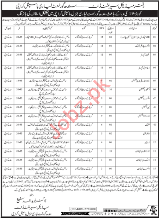 Shaheed Mohtarma Benazir Bhutto Medical College SMBBMCL Jobs
