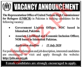 Liaison Officer & Economic Inclusion Officer Jobs 2020