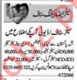 Salesman & Sales Officer Jobs 2020 in Lahore