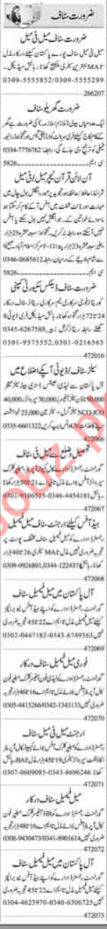 Data Entry Operator & Receptionist Jobs 2020 in Islamabad