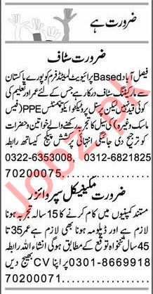 Express Sunday Faisalabad Classified Ads 5th July 2020