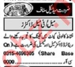 Khabrain Sunday Classified Ads 5th July 2020 for Medical
