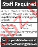 Quantity Surveyor Jobs 2020 in Lahore
