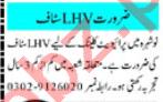 Lady Health Visitor & LHV Jobs 2020 in Peshawar