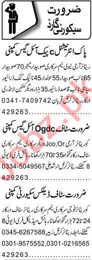 Security Guard & Clerk Jobs Open in Lahore 2020