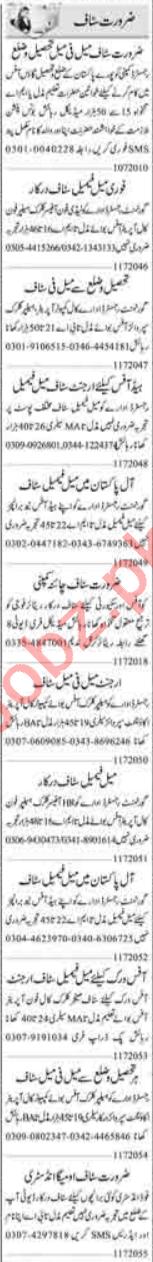Data Entry Operator & Secretary Jobs 2020 in Islamabad