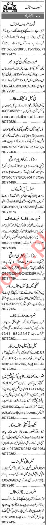 Client Relation Officer & Imports Executive Jobs 2020