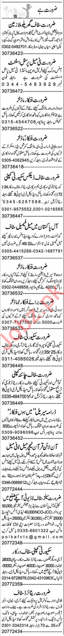 Web Developer & Account Manager Jobs 2020 in Lahore