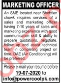 Power Cool Pakistan Jobs 2020 for Marketing Manager