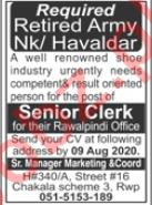 Senior Manager Marketing & Coordinator Jobs 2020