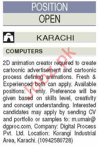 2D Animation Creator & Cartoonic Creator Jobs 2020
