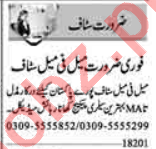 Data Entry Operator & Clerk Jobs 2020 in Lahore