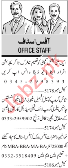 Accounts Officer & Secretary Jobs 2020 in Karachi