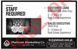Customer Care Executive & Sales Executive Jobs 2020