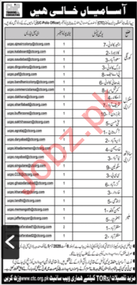 CHIP Training & Consulting CTC Karachi Jobs 2020