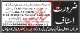 Administrator Hospital & Nursing Assistant Jobs 2020