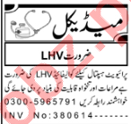Lady Health Visitor & Medical Officer Jobs 2020