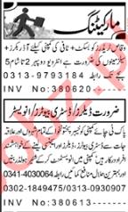 Order Booker & Distributor Jobs 2020 in Peshawar