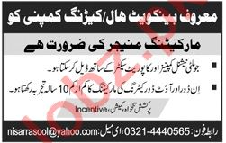 Marketing Manager Jobs 2020 in Lahore