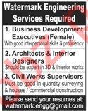 Business Development Executive & Interior Designer Jobs 2020
