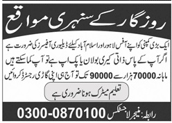 Delivery Officers Jobs 2020 in Lahore & Islamabad