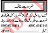 Khabrain Sunday Classified Ads 9 Aug 2020 for Hotel Staff